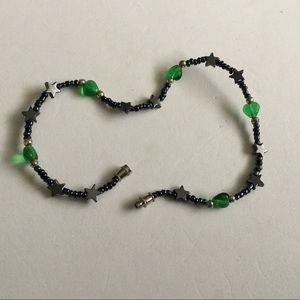 "Jewelry - 9.5"" beaded ankle bracelet"